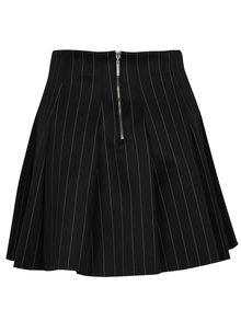 Čierno-biela vzorovaná mini sukňa do pása TALLY WEiJL