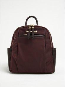 Hnědý batoh s koženkovými detaily Gionni Julia