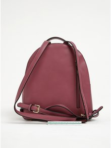Ružový batoh s detailmi v zlatej farbe Gionni Colette