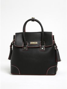 Černá kabelka s červenými detaily Gionni Solaine