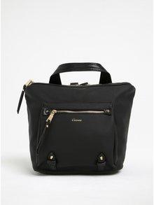 Černý batoh s detaily ve zlaté barvě Gionni Chantal