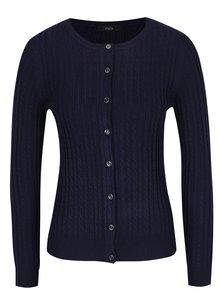 Tmavě modrý dámský cardigan s knoflíky M&Co