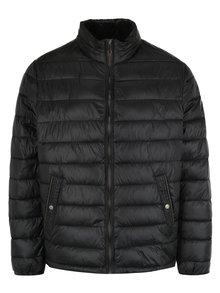 Černá prošívaná bunda s kapsami JP 1880