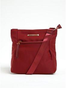 Červená crossbody kabelka Gionni Julia