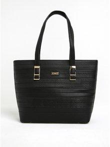 Černý velká kabelka Gionni Ynes
