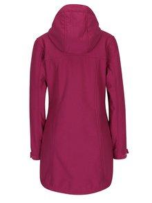 Ružová dámska softshellová nepremokavá bunda LOAP Lapalupe