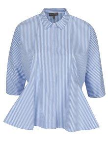 Bílo-modrá pruhovaná košile Ulla Popken