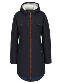 Tmavomodrý dámsky zimný nepremokavý kabát LOAP Nikca