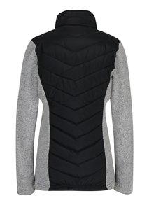 Šedo-černá dámská prošívaná bunda LOAP Gopuffa