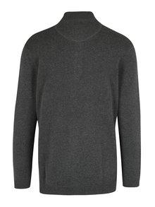 Sivý sveter s gombíkmi JP 1880