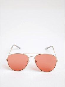Ružové slnečné okuliare Pieces Nea