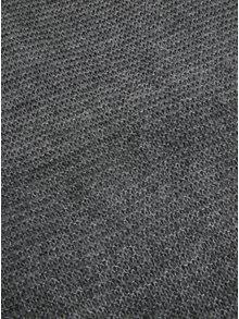 Esarfa gri circulara si tricotata - Pieces Jolien