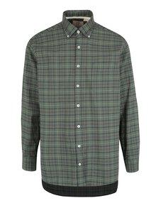 Zelená kostkovaná comfort fit košile JP 1880
