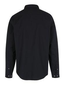 Tmavomodrá slim fit košeľa Original Penguin Oxford