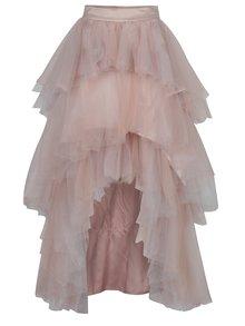 Růžová tylová sukně Chi Chi London