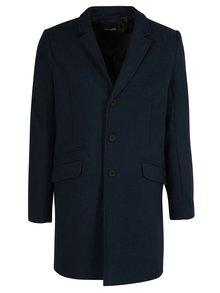 Modrý vlnený kabát ONLY & SONS Julian