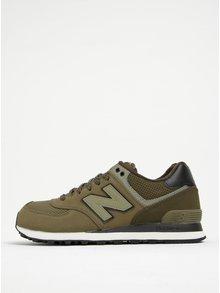 Černo-zelené pánské tenisky New Balance