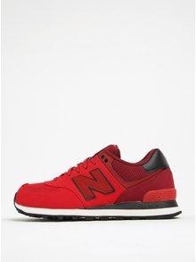 Pantofi sport roșu&negru New Balance 574