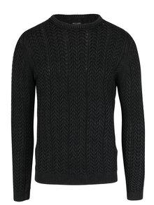 Tmavě šedý pletený svetr ONLY & SONS Hugo