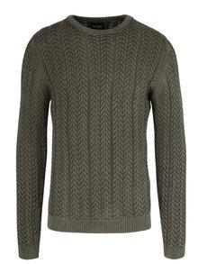 Zelený pletený svetr ONLY & SONS Hugo