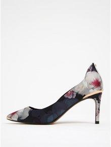 Pantofi bleumarin cu toc cui și imprimeu floral - Ted Baker Vyixin P