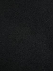 Eșarfă neagră din amestec de lână Pieces Jira