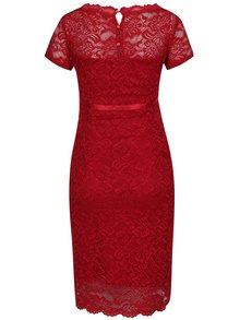 Červené krajkové těhotenské šaty Mama.licious Marylin