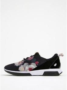Pantofi sport negri cu imprimeu floral - Ted Baker Cepap