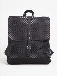 Rucsac negru cu print buline Enter Backpack Mini 8 l