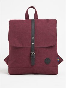 Vínový žíhaný batoh Enter Backpack Mini 8 l