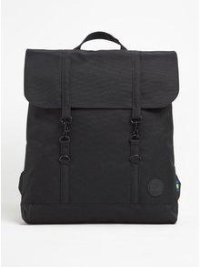 Černý batoh s karabinami Enter City 12 l