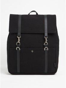 Čierny batoh s karabínami Enter Cabin Backpack 18 l