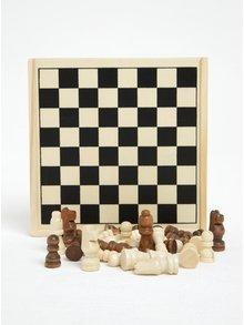 Šachy v dřevěné krabičce CGB