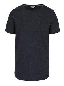 Šedomodré žíhané tričko s krátkým rukávem Jack & Jones Mesut