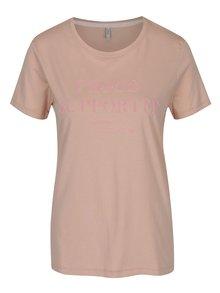 Staroružové tričko s potlačou ONLY Sabina Proud
