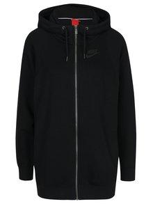 Čierna dámska mikina s kapucňou Nike Sportswear Modern