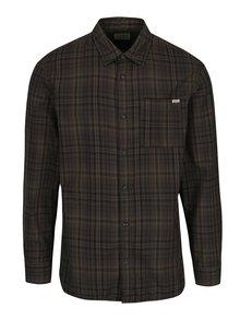 Tmavozelená slim fit košeľa Jack & Jones Max