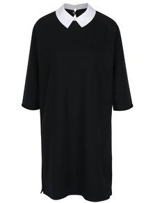 Černé šaty s límečkem ONLY Mandy