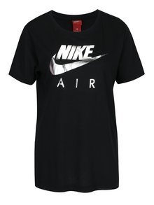 Černé dámské tričko s potiskem Nike Sportswear Air