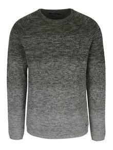 Sivo-zelený melírovaný sveter Jack & Jones Fuel