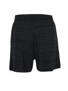 Čierne dámske melírované kraťasy Nike Sportswear Advance 15