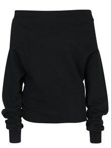 Čierna dámska voľná mikina s odhalenými ramenami Cheap Monday