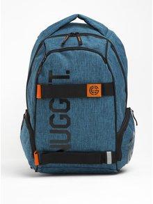 Modrý melírovaný batoh NUGGET Bradley 24 l