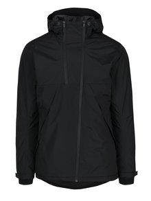 Čierna funkčná bunda s asymetrickým zipsom Jack & Jones Tedge
