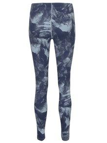 Colanți sport bleumarin cu print abstract pentru femei  Nike Sportswear Glacier