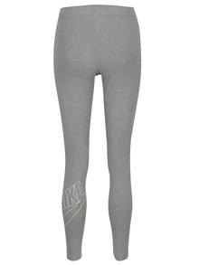 Colanți sport gri melanj Nike Sportswear Logo Club