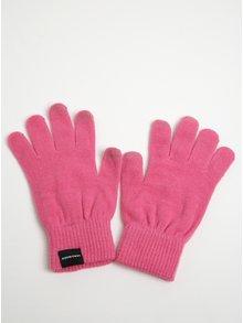 Růžové rukavice VERO MODA Vilde
