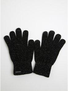 Černé třpytivé rukavice VERO MODA Vilde