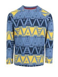 Žlto-modré detské funkčné tričko s dlhým rukávom Reima Tiptoe