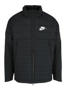 Geacă neagră matlasată de toamnă/iarnă pentru bărbați Nike Sportswear Fill